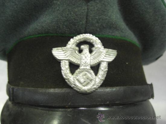 Militaria: Alemania. Gorra de Policía. II Guerra Mundial. - Foto 2 - 26302798