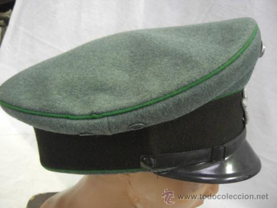 Militaria: Alemania. Gorra de Policía. II Guerra Mundial. - Foto 4 - 26302798