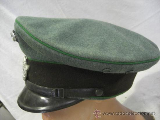 Militaria: Alemania. Gorra de Policía. II Guerra Mundial. - Foto 6 - 26302798