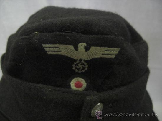 Militaria: Gorra alemana. II Guerra Mundial. - Foto 2 - 26574894