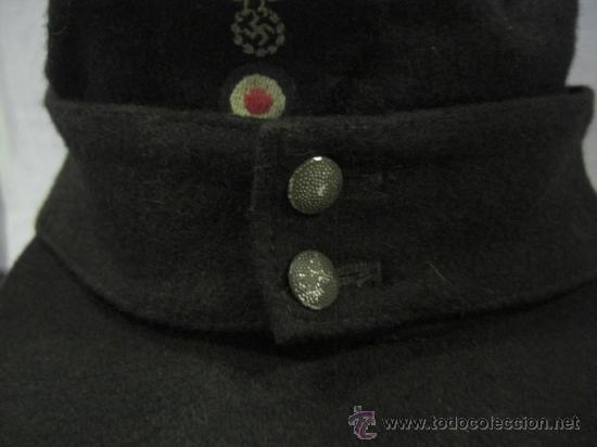 Militaria: Gorra alemana. II Guerra Mundial. - Foto 3 - 26574894