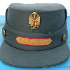 Militaria: ANTIGUA GORRA TERESIANA DE LA GUARDIA CIVIL - CABO PRIMERO 1º - ORIGINAL - EN - TALL. Lote 24489394