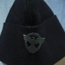 Militaria: ALEMANIA. II GUERRA MUNDIAL. GORRO DE TELA NEGRA . Lote 26626760
