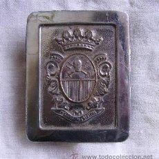Militaria: HEBILLA POLICIA MUNICIPAL. Lote 23259268