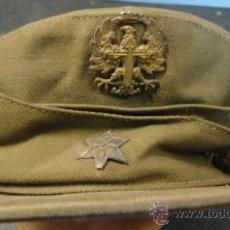Militaria: GORRA MONTAÑERA KAKI DE ALFÉREZ, AÑOS 50. Lote 23286446