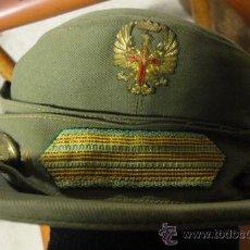 Militaria: GORRA MONTAÑERA, TROPAS DE MONTAÑA, AÑOS 50-60, 52 CM DE PERÍMETRO INTERIOR. Lote 24436378