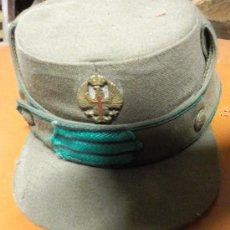Militaria: GORRA MONTAÑERA, TROPAS DE MONTAÑA, 52 CMTS. DE PERÍMETRO INTERIOR. Lote 24588145
