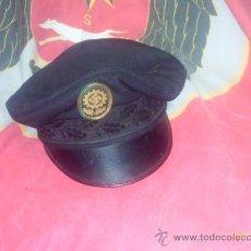 Militaria: GORRA ALEMANA DAF DEUTSCHE ARBEIT FRONT. Lote 27290753