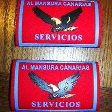 Militaria: HOMBRERAS SEGURIDAD ESPAÑA ALMANSURA. Lote 26327558