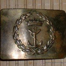 Militaria: HEBILLA DE MARINA FRANQUISTA. Lote 24940323