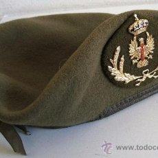 Militaria: BOINA MILITAR DEL EJERCITO DE TIERRA (TALLA 57, 1987). Lote 29330692