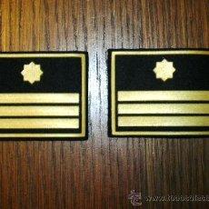 Militaria: MANGUITOS DE BOMBEROS CATALUÑA HOMBRERAS. Lote 25106979