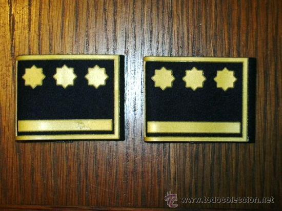 MANGUITOS DE BOMBERO CATALUÑA (Militar - Otros relacionados con uniformes )