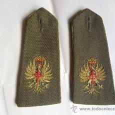 Militaria: HOMBRERAS DE GALA UNIFORME CAQUI POSTGUERRA. Lote 27554877