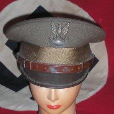 Militaria: GORRA DE PLATO POLACA.. Lote 26739920