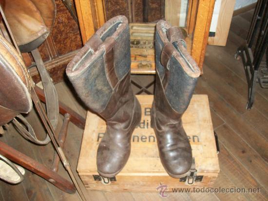 BOTAS ALEMANAS (Militar - Botas y Calzado)