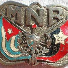 Militaria: HEBILLA REVOLUCIÓN CUBANA,CUBA,CHÉ,FIDEL CASTRO,ORIGINAL,TREMENDA PIEZA!!!. Lote 28538298