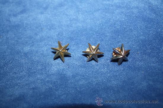 Conjunto De Tres Estrellas De Seis Puntasdorad Comprar En