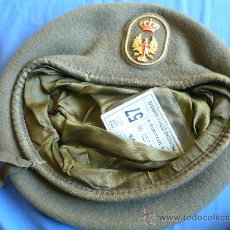 Militaria: BOINA EJERCITO ESPAÑOL REPRESENTACIÓN TROPA TALLA 57.BOINAS ELOSEGUI AÑO 1991.. Lote 28658711