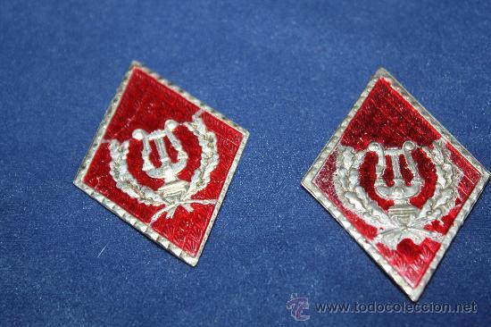 PAREJA DE ROMBOS (Militar - Otros relacionados con uniformes )