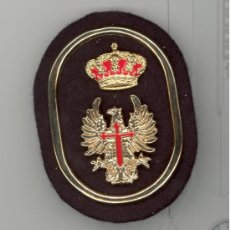 Militaria: GALLETA BOINA NEGRA TROPA. Lote 163459996