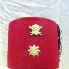 Militaria: EJÉRCITO COLONIAL ITALIANO. TARBUCH COMANDANTE. ITALIA FASCISTA BENITO MUSOLINI II GUERRA MUNDIAL. Lote 29126109