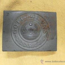 Militaria: HEBILLA ALEMANA. I GUERRA MUNDIAL. . Lote 29361653