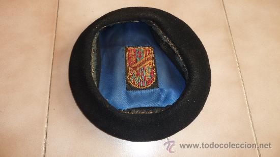de28f5b7bffd8 Antigua boina negra vasca