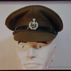 Militaria: INDIA - GORRA DE POLICIA. Lote 30367982