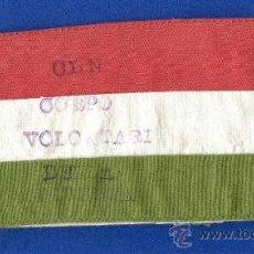 Militaria: BRAZAL, BRAZALETE DE PARTIGIANI, PARTISANO, RESISTENCIA ITALIANA, 2ª GUERRA MUNDIAL 1939/45.. Lote 30553181