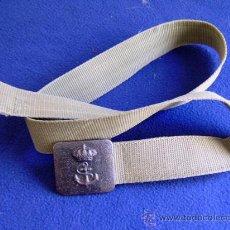 Militaria: CINTURON MILITAR CON HEBILLA. Lote 30832159