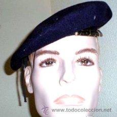 Militaria: BOINA DE LA O.J.E. COLOR AZUL , (ORGANIZACION JUVENIL ESPAÑOLA ),AÑOS 60,70 , ORIGINAL. Lote 31001136