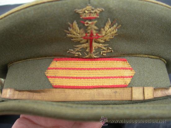 Militaria: GORRA SARGENTO MILITAR ESPAÑOL - Foto 2 - 31035551