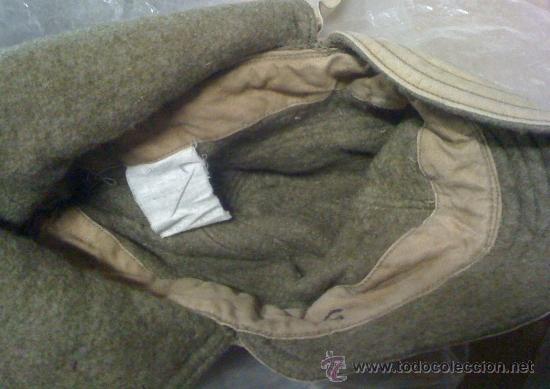 Militaria: Gorra de invierno con orejeras USA, 2º Guerra Mundial - Foto 2 - 24166858