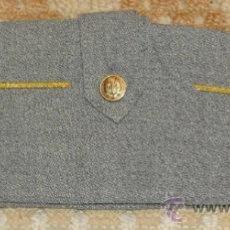 Militaria: CHAPIRI - GORRO CUARTELERO. GRIS. ACADEMIA GENERAL MILITAR. ZARAGOZA. BORLA ROJA - AMARILLA. . Lote 31716123