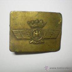 Militaria: HEBILLA AVIACIÓN GUERRA CIVIL. Lote 31820481