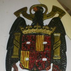 Militaria: AGUILA DE SAN JUAN DE BRONCE, EPOCA ANTERIOR, MIDE 17X11 CNTS . Lote 35307053