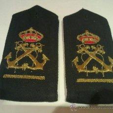 Militaria: GALONES DE GUARDAMARINAS DE LA ARMADA ESPAÑOLA. Lote 32093453