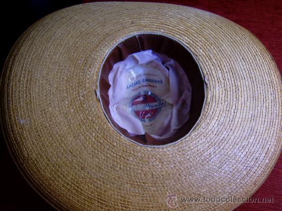 Militaria: sombrero de paja militar - Foto 4 - 32189888