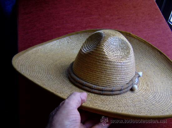 Militaria: sombrero de paja militar - Foto 7 - 32189888