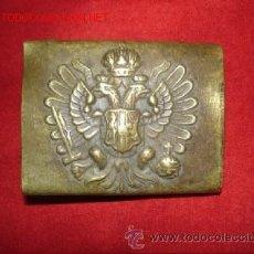 Militaria: HEBILLA AUSTROHUNGARA- 1º GUERRA MUNDIAL. Lote 32201665