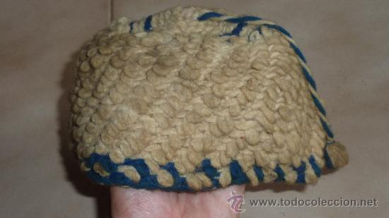 Militaria: Antiguo gorro de lana de los años 30-40-50. Alta montaña. A identificar. - Foto 2 - 32295044