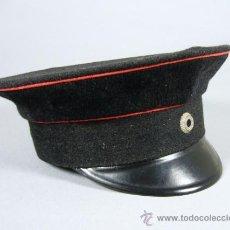 Militaria: ANTIGUA GORRA MILITAR DE PLATO ALEMANA SUB OFICIAL DEL EJERCITO PRUSIANO I PRIMERA GUERRA MUNDIAL . Lote 32511492