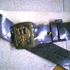 Militaria: CINTURÓN EJÉRCITO ESPAÑOL AÑOS CUARENTA. Lote 32518211