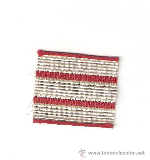 10 MTS. GALÓN METALICO ANTIGUO 3 CM. DE SARGENTO ESPECIALISTA (Militar - Otros relacionados con uniformes )