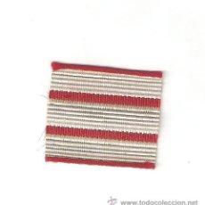 Militaria: 5 MTS. GALÓN METALICO ANTIGUO 3 CM. DE SARGENTO ESPECIALISTA. Lote 78552450