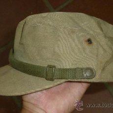 Militaria: ANTIGUA GORRA ESPAÑOLA MODELO COREANA, DE FAENA, AÑOS 60-70. Lote 32785280