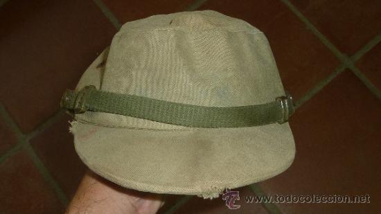 Militaria: Antigua gorra española modelo coreana, de faena, años 60-70 - Foto 3 - 32785280