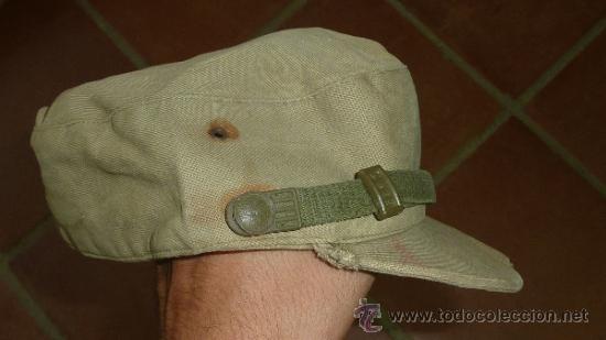 Militaria: Antigua gorra española modelo coreana, de faena, años 60-70 - Foto 4 - 32785280
