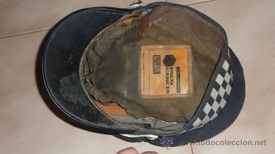 Militaria: Antigua gorra de Guardia Urbana del Ayuntamiento de Barcelona o de Policia. - Foto 6 - 32785715